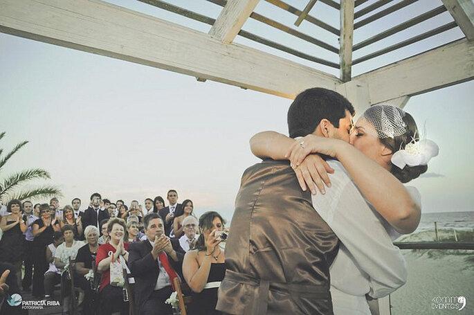 Los colombianos también nos casamos por amor. Imagen cortesía de Komma Eventos - Foto: Patricia Riba