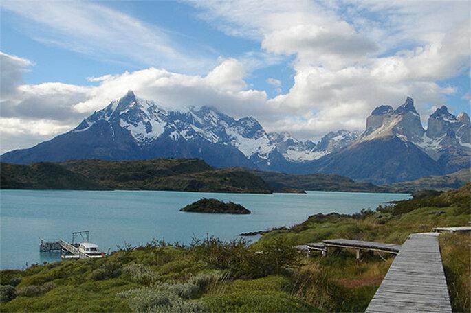 Parque Nacional Torres del Paine, en Chile. Foto: Marta Jiménez