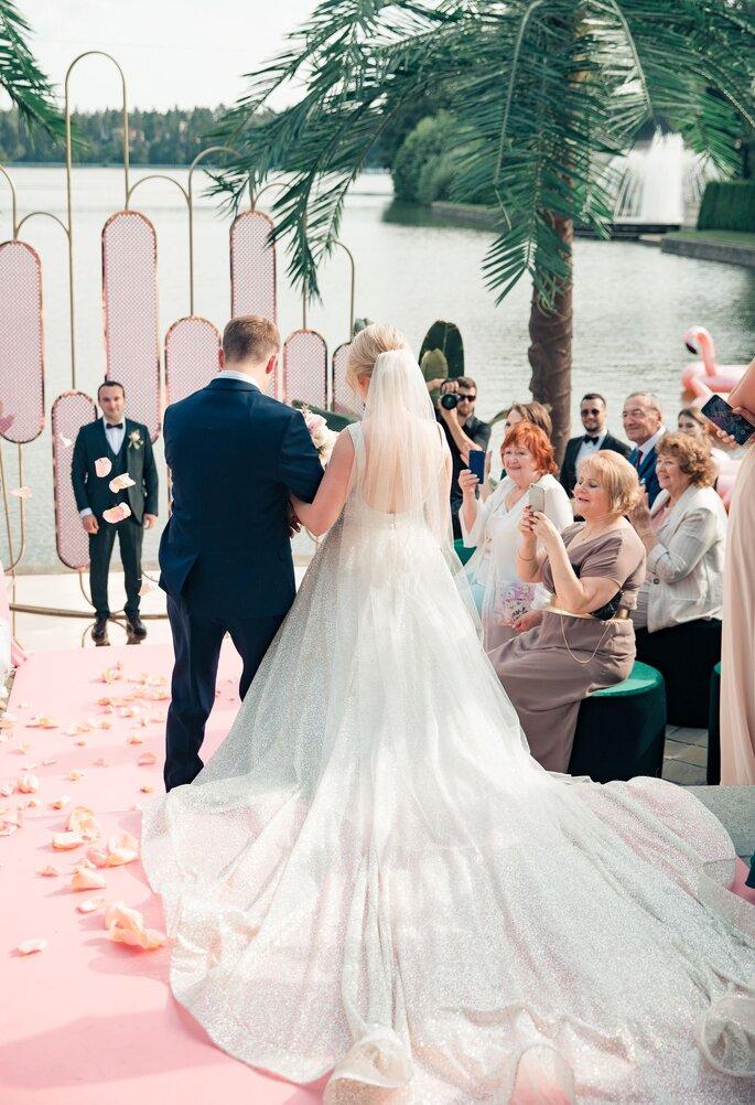 Безудержный Лос-Анжелес: свадьба Виктории и Юрия