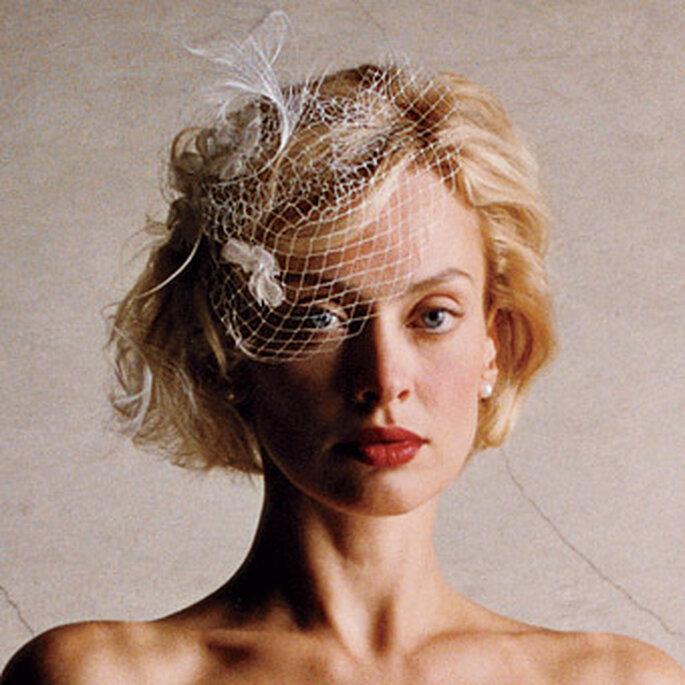 Kurze Brautschleier erinnern an die 50er-Jahre – Foto: www.100matrimoni.it
