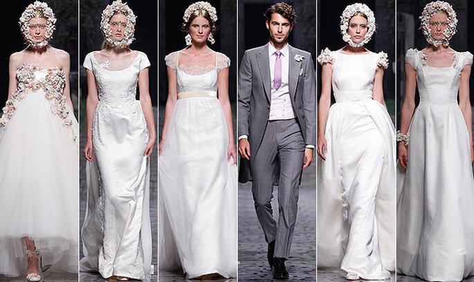 Victorio & Lucchino Collezione 2013 Foto Barcelona Bridal Week