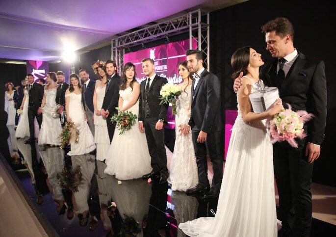 Un momento della quindicesima edizione di Sposami 2019