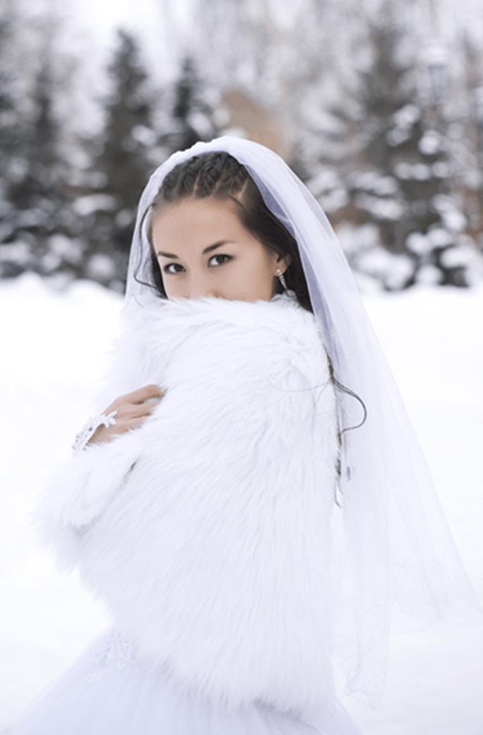 La magia di sposarsi sulla neve ! Credits: http://affaritaliani.libero.it