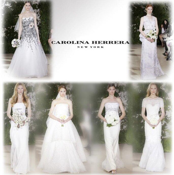 Vielfalt scheint das Motto zu sein: Carolina Herrera Kollektion 2012