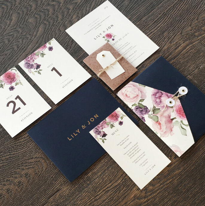 Dale un toque sper especial a tu boda con las invitaciones de miel miel studio altavistaventures Image collections