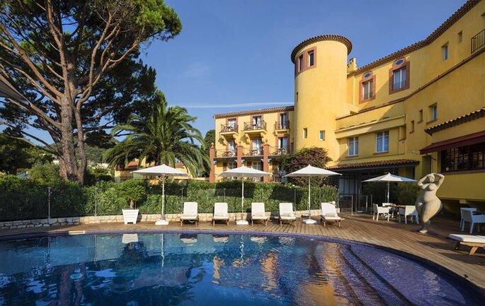 Hôtel Ermitage - mariage - couple - plein air - PACA - Provence-Alpes Côte d'Azur