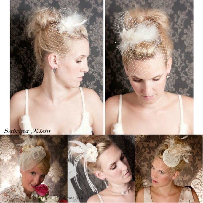 Brautschmuck für das Haar aus der aktuellen Kollektion von La Chia