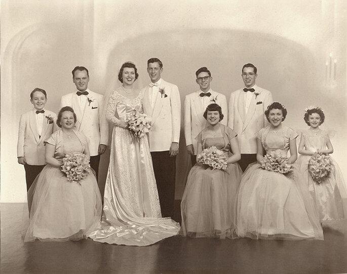 Boda en 1950. Foto: Sam Fam