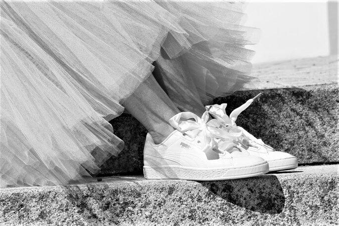 Sneaker für die Braut
