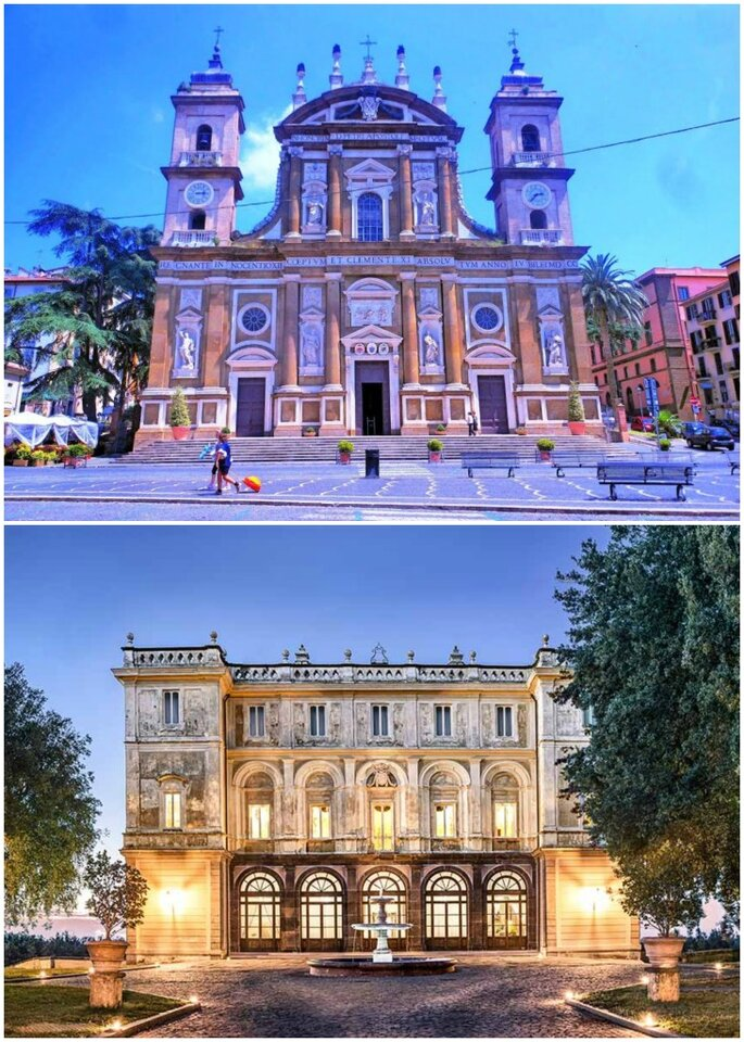 Basilica di San Pietro Frascati e Villa Grazioli