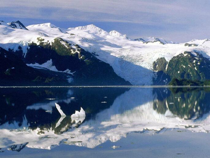 O frio do Alasca é uma boa pedida para os recém casados