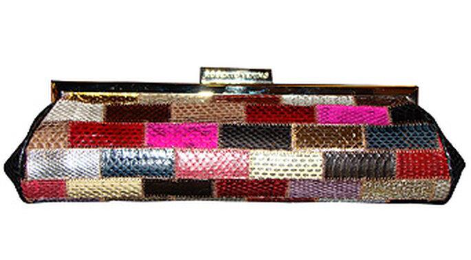Minibag estilo patchwork de Roberto Verino