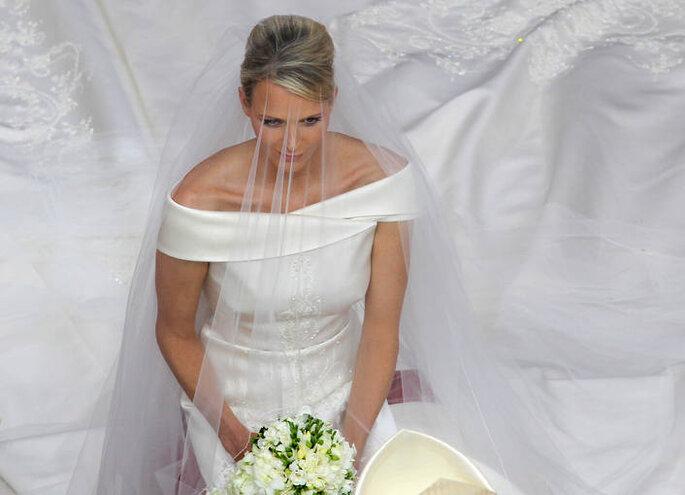 Imagen del vestido de novia de Charlene Wittstock - Valery Hache
