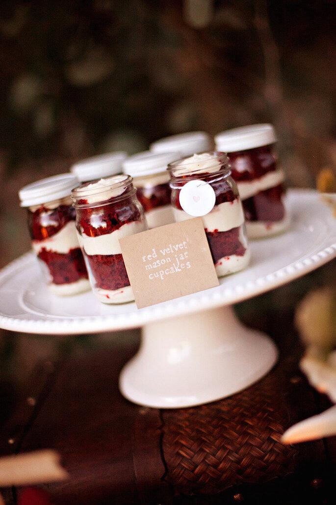 Las ideas más originales para usar los mason jars en tu boda - Britt Rene Photo