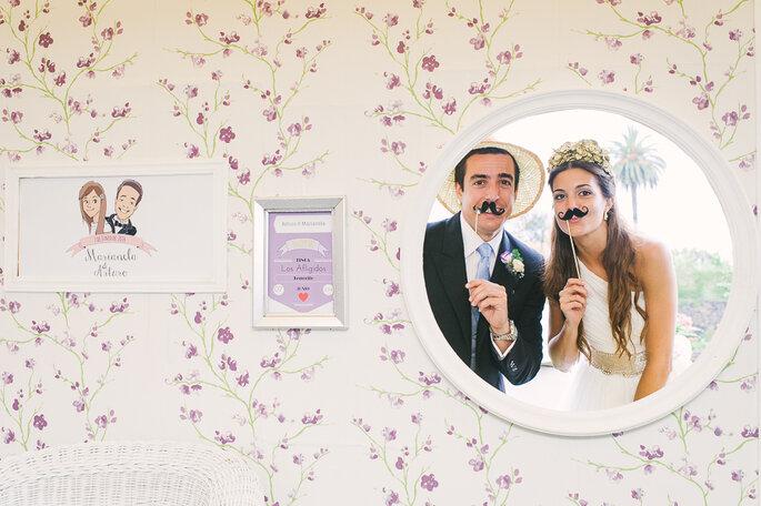 foto de community manager para boda