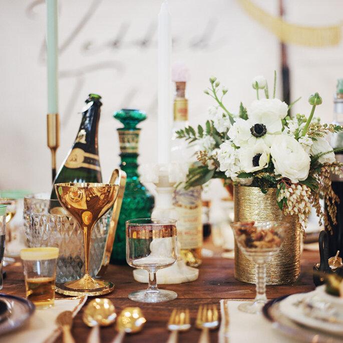 Las combinaciones en tu montaje de bodas serán geniales - Foto Rad and in Love