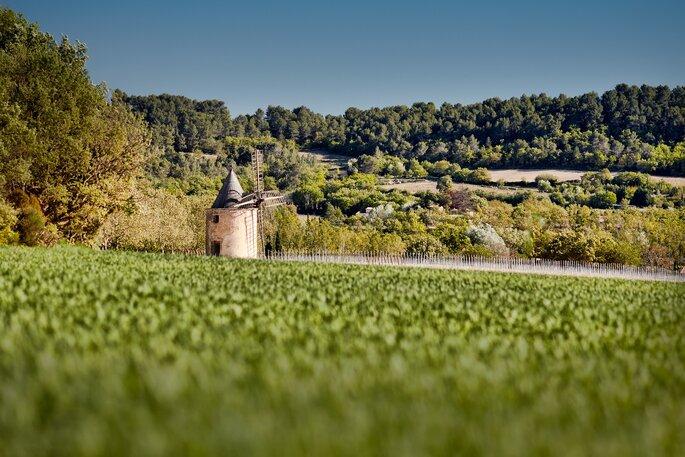 Château de Sannes, lieu de réception dans le Vaucluse