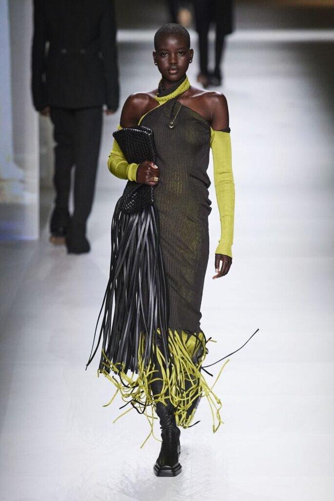 tendenze moda autunno inverno 2020/2021 abiti neri