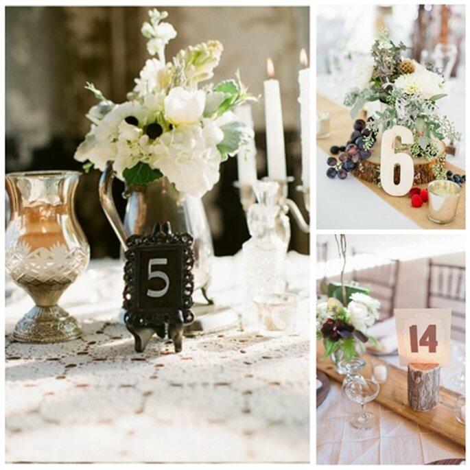 Rustikale Hochzeitsdekoration - Fotos: Alea Lovely/Jeff Sampson.