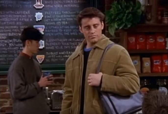 Joey Tribbiani dans Friends/ Capture d'écran Youtube