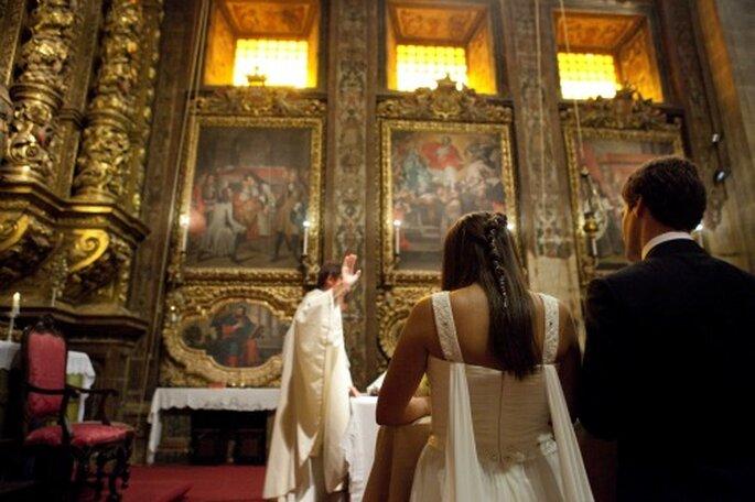Bei der kirchlichen Trauung ist ein Kirchenheft von Vorteil – Foto: Nuno Palha