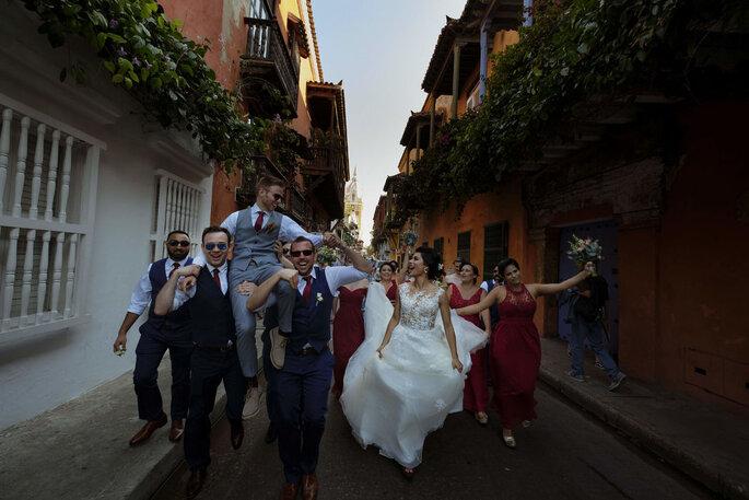 La Máquina del Tiempo Fotografía de boda en Cartagena