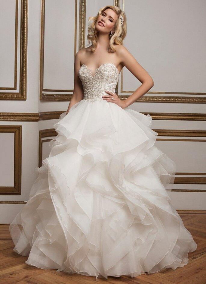 por qué un vestido de novia corte princesa?