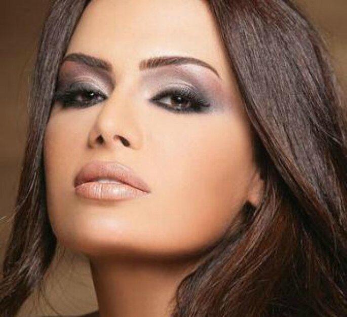 Per la sposa bruna, il focus saranno sicuramente gli occhi. Foto www.ricevimenti.it