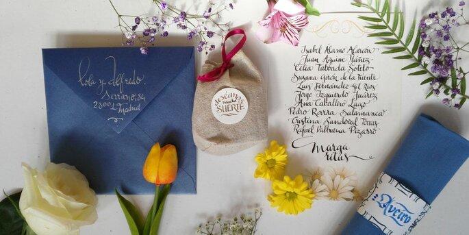 Las invitaciones de boda ms originales de madrid escrito a mano altavistaventures Images