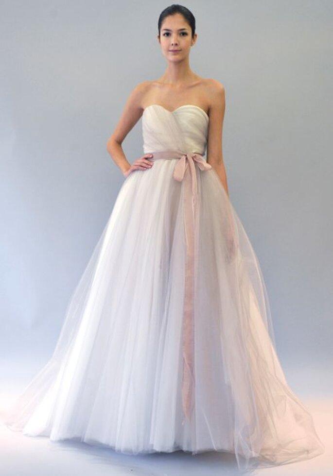 Tendance pastel pour les robes de mari e 2013 for Vera wang robes de mariage d hiver