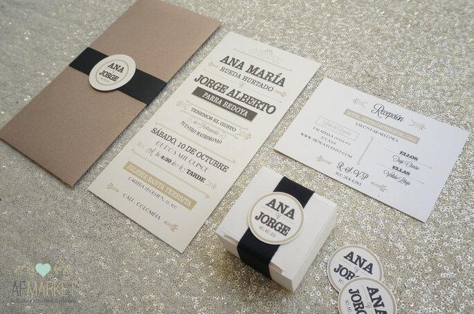 Como hacer una boda minimalista-AF Market