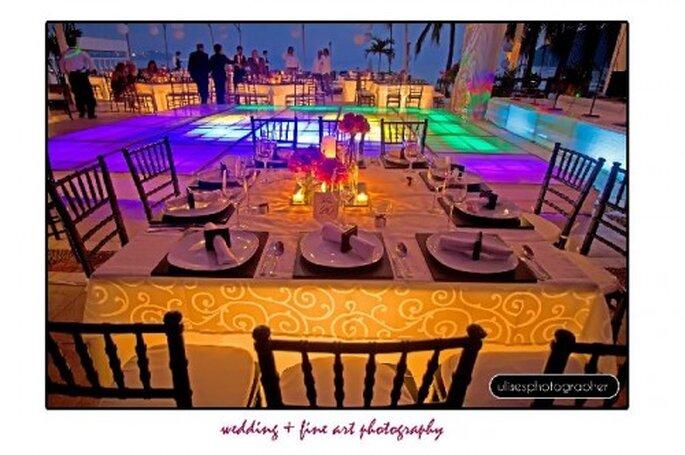 Detalles de la decoración y el lugar para recordar la recepción de tu boda - Foto Ulises Photographer
