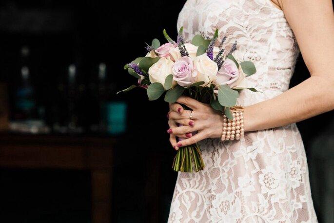 Как выбрать к платью букет невесты