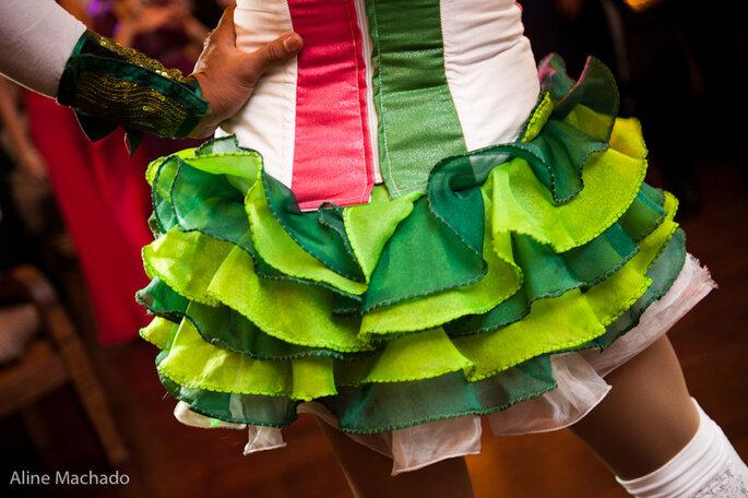 Freche Outfits beim Polterabend! Foto-Aline Manchado