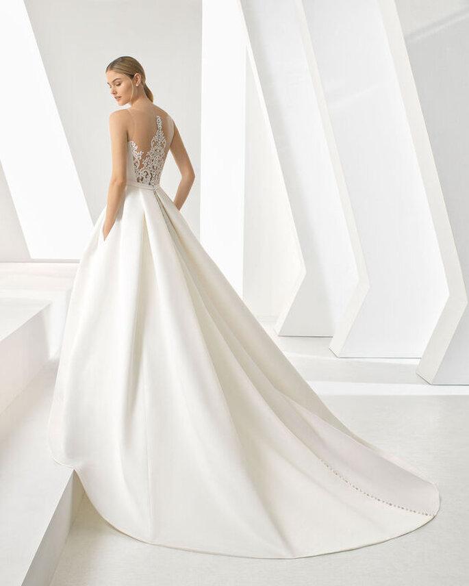 vestido de noiva clássico