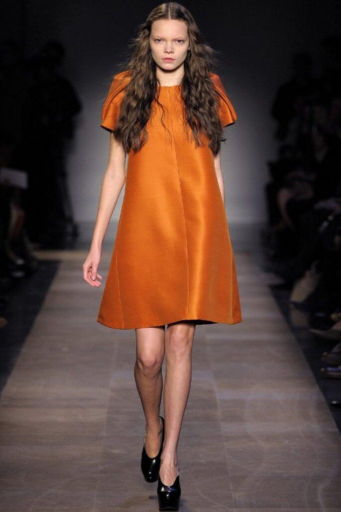 3 tendencias otoñales en vestidos de fiesta - Carven