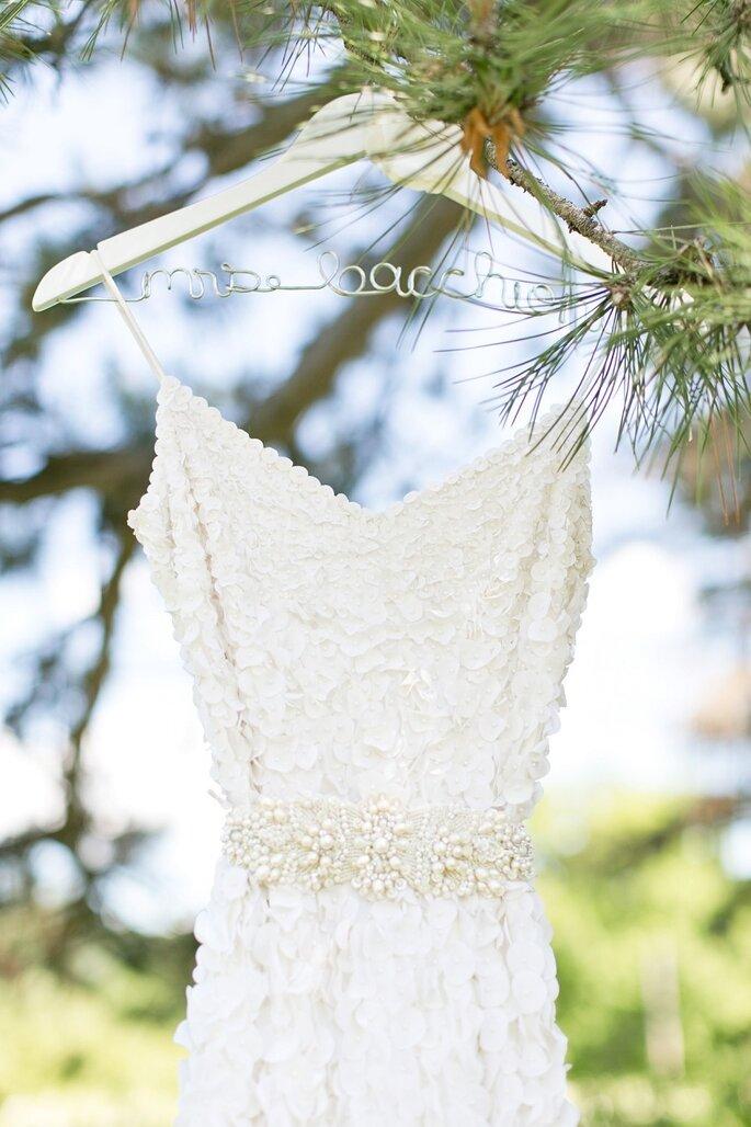 El vestido de novia- un protagonista indiscutible en las fotos de boda. Foto- Cassi Claire