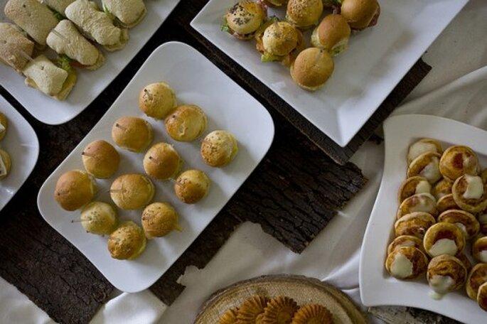 Comida en bocadillos una tendencia en bodas del 2013 - Foto Kelly Hau en Flickr