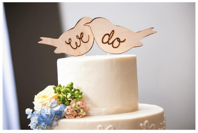 Divertidos muñequitos para el pastel de bodas - Foto Natalia Zamarripa Photography
