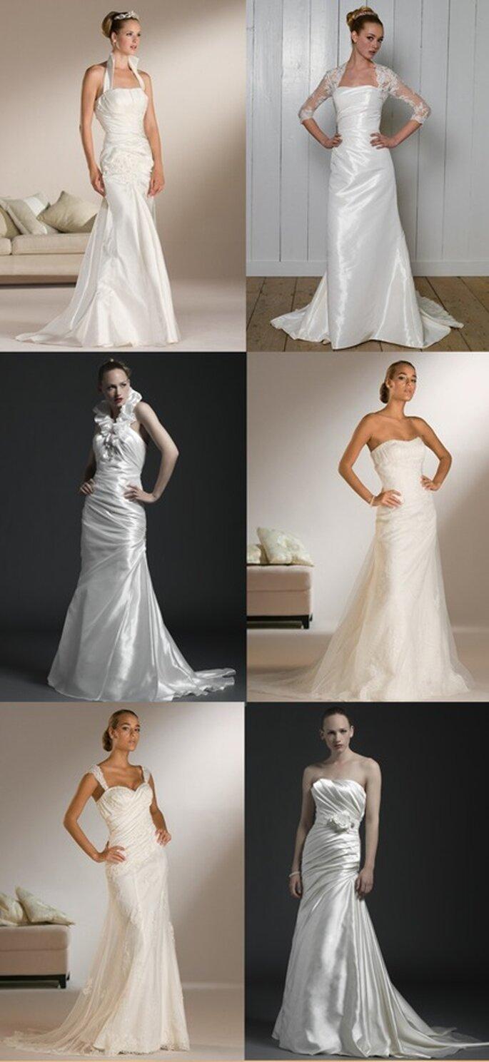 Schmale Brautkleider von Sincerity