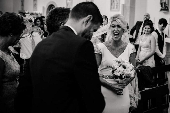Foto casamento preto e branco