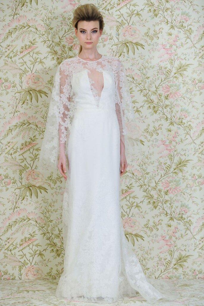 Vestidos de novia primavera 2015 con inspiración en la arquitectura - Foto Ángel Sánchez
