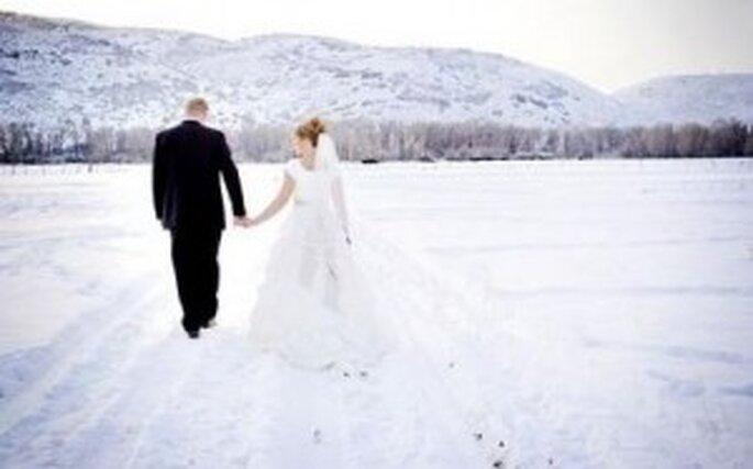 Sposarsi in una cappella di ghiaccio in Lapponia