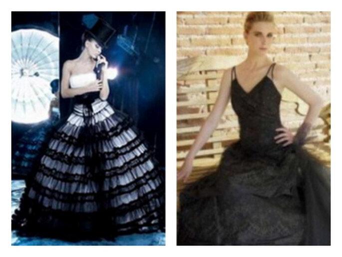 Vestidos de noiva pretos - Cymbeline