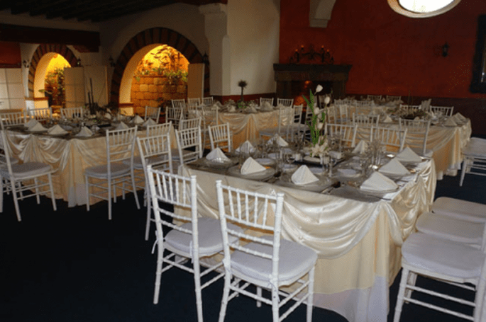 Locaciones exclusivas para el banquete y recepción de tu boda - Foto Grupo Montblanc