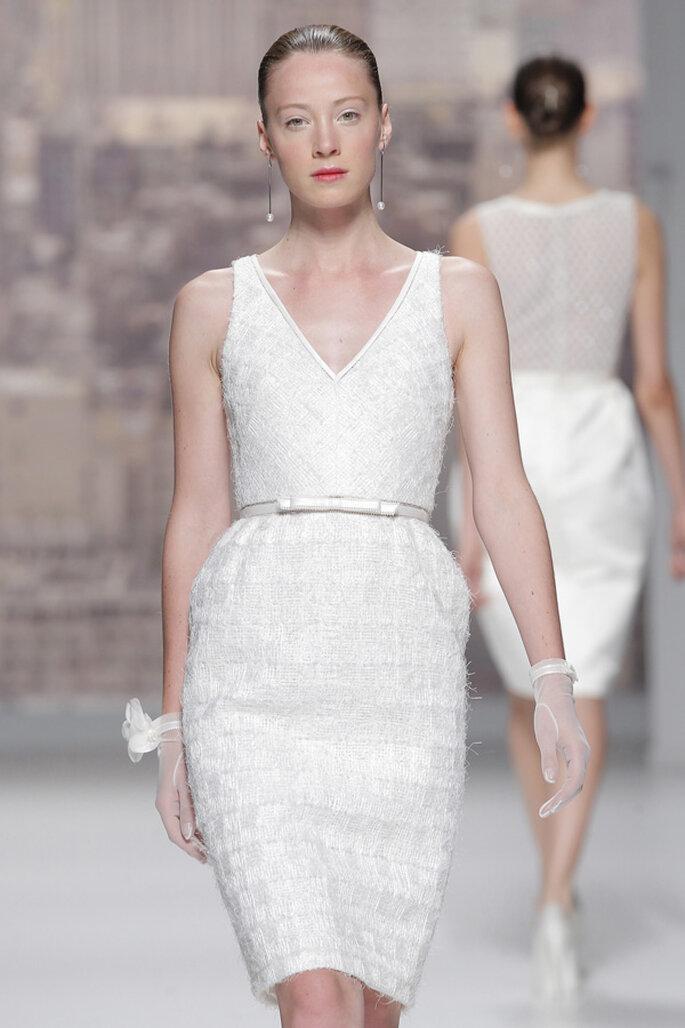 Tendencias en vestidos cortos. Foto: Rosa Clará