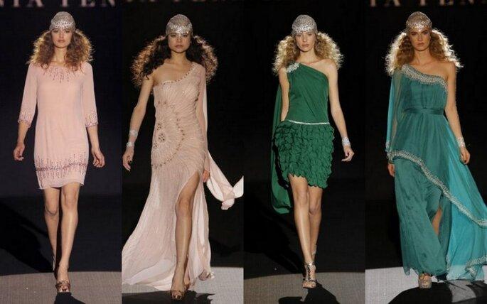 Colección de vestidos de fiesta de Sonia Peña - Colección primavera-verano 2015