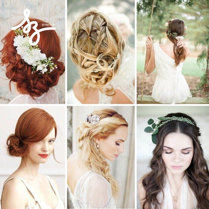 Inspiración para elegir el peinado y maquillaje perfecto - Fotos