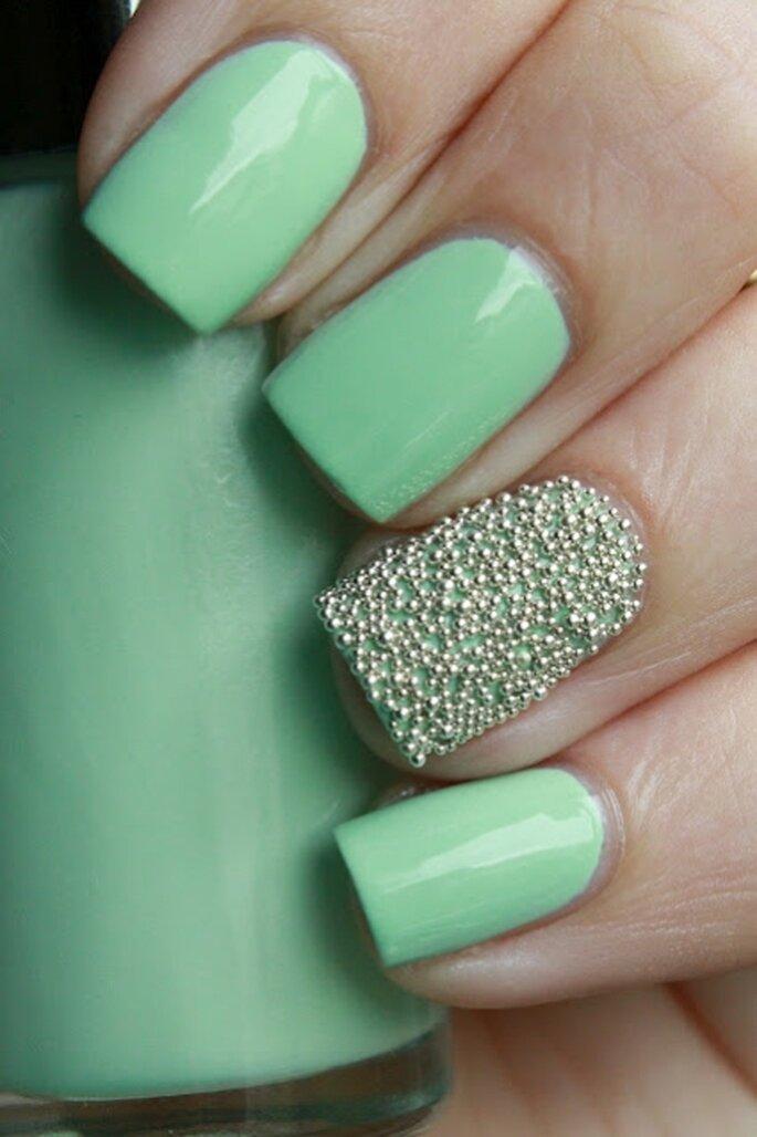 Seafoam Manicure