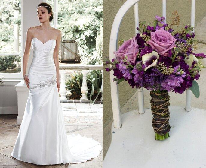 Foto: Vestido Maggie Sottero & buquê Floral Design by Jacqueline Ahne´s